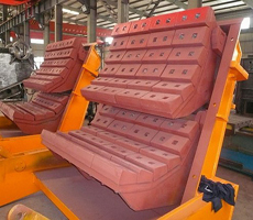 Impact crusher impact plate parts