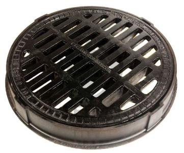 China ductile iron manhole cover and frame supplier